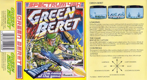 GreenBeret_ZXSpectrum